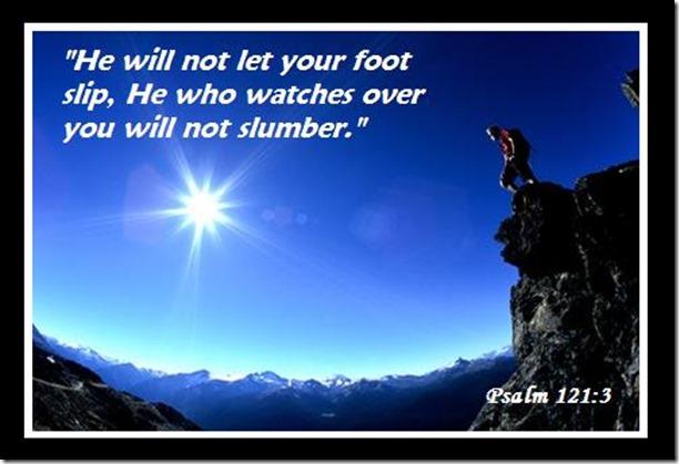 psalm 121 3