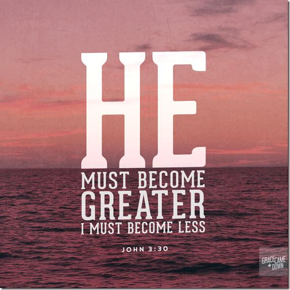 John 3.30